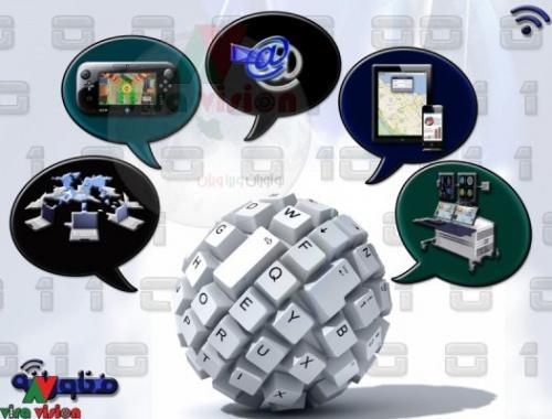 پوستر فناورانه شبکه-تهران